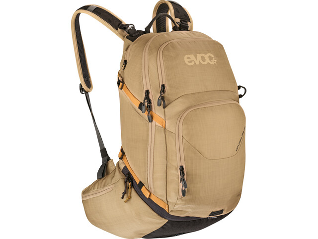 EVOC Explorer Pro Technical Performance Pack 26l Heather Gold